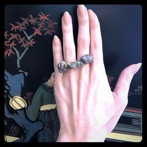 Double Ring Rock Gem 💎